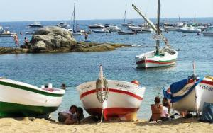 Calella de Palafrugell, Cost Brava, Spain Sailing