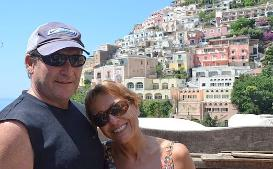 Liz & Bill, Amalfi Coast, Italy