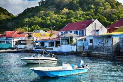 Bourge des Saintes harbor, CCS Guadeloupe