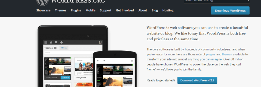 Self-hosted WordPress website – the beginning