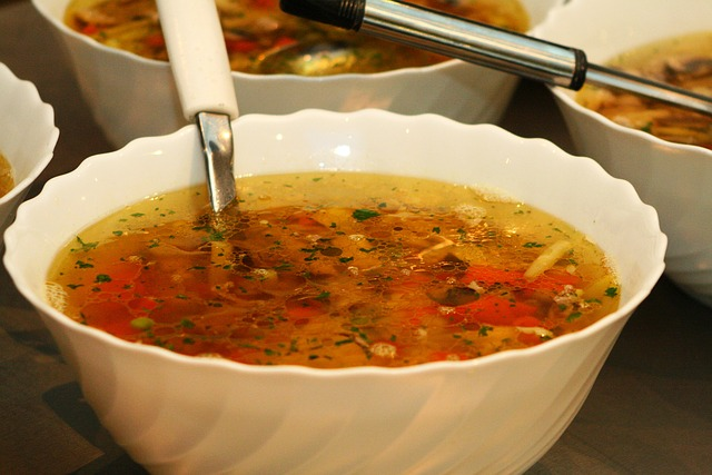 Spicy Yam Soup