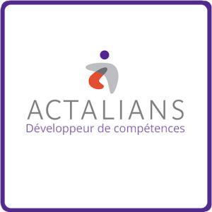 Logo Références Clients - ACTALIANS - OPCAPL - Cabinet Social, Stéphanie LADEL