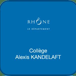 Logo Références Clients - Collège Alexis KANDELAFT - Chazay d'Azergues - Cabinet Social, Stéphanie LADEL