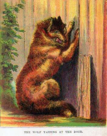 The Wolf Lapping at the Door