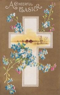 A Cheerful Easer Postcard