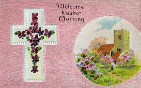 Welcome Easter Morning Postcard