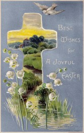 A Joyful Easter Postcard