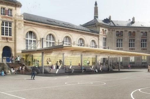 Lycée Voltaire à Paris