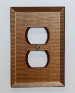 Susan Goldstick Decorative Outlets Glass Outlet Cover Amber