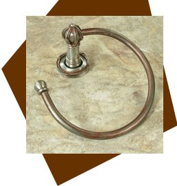 Anne at Home Mai Oui Towel Ring