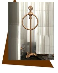 Anne at Home  Mai Oui Vanity Towel Ring