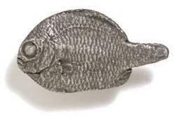 Modern Objects Mini Fish Cabinet Knob ( left)
