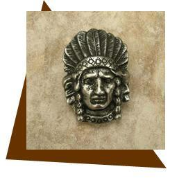 Indian Head Cabinet Knob
