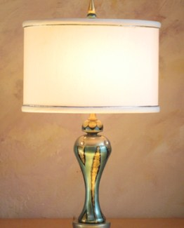 Susan Goldstick DecorativeTable Lamps -Aquamarina