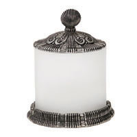 Anne At Home Oceanus Large Jar with Pewter Lid