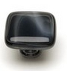 Sietto Glass Cabinet Knob Cirrus  Charcoal Grey