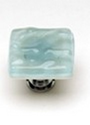 Sietto Glass Cabinet  Knob Glacier Light Aqua