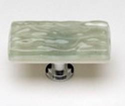 Sietto Glass Cabinet Knobs  Glacier Spruce Green