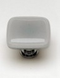 Sietto Glass Cabinet Knob Intrinsic Blue Grey