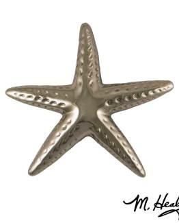Michael Healy Designs Starfish Door Knocker - Nickel Silver-Premium