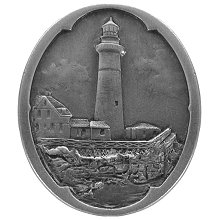 Notting Hill Cabinet Knob Guiding Lighthouse Antique Pewter