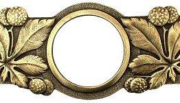 Notting Hill Cabinet Pull Horse Chestnut Antique Brass