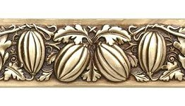 """Notting Hill Cabinet Pull Autumn Squash Antique Brass 4-7/8"""" x 1-1/4"""""""