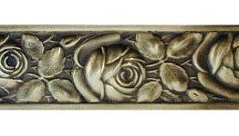 Notting Hill Cabinet Hardware McKenna's Rose Antique Brass