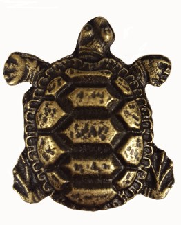 Buck Snort Lodge Decorative Hardware Cabinet Knob Turtle