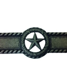 Buck Snort Lodge Hardware Star Barbed Wire Cabinet Pull