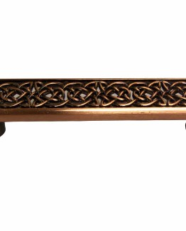 Buck Snort Lodge Decorative Hardware Celtic Style Cabinet Pull #1