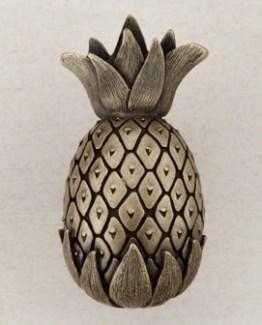 Acorn Manufacturing Pineapple Cabinet Knob Antique Brass