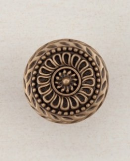 Acorn Manufacturing Lace Circle Cabinet Knob Museum Gold