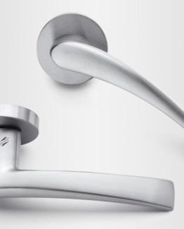 Colombo Design Door Lever Blazer Handle-FL 11NA-Key Lock