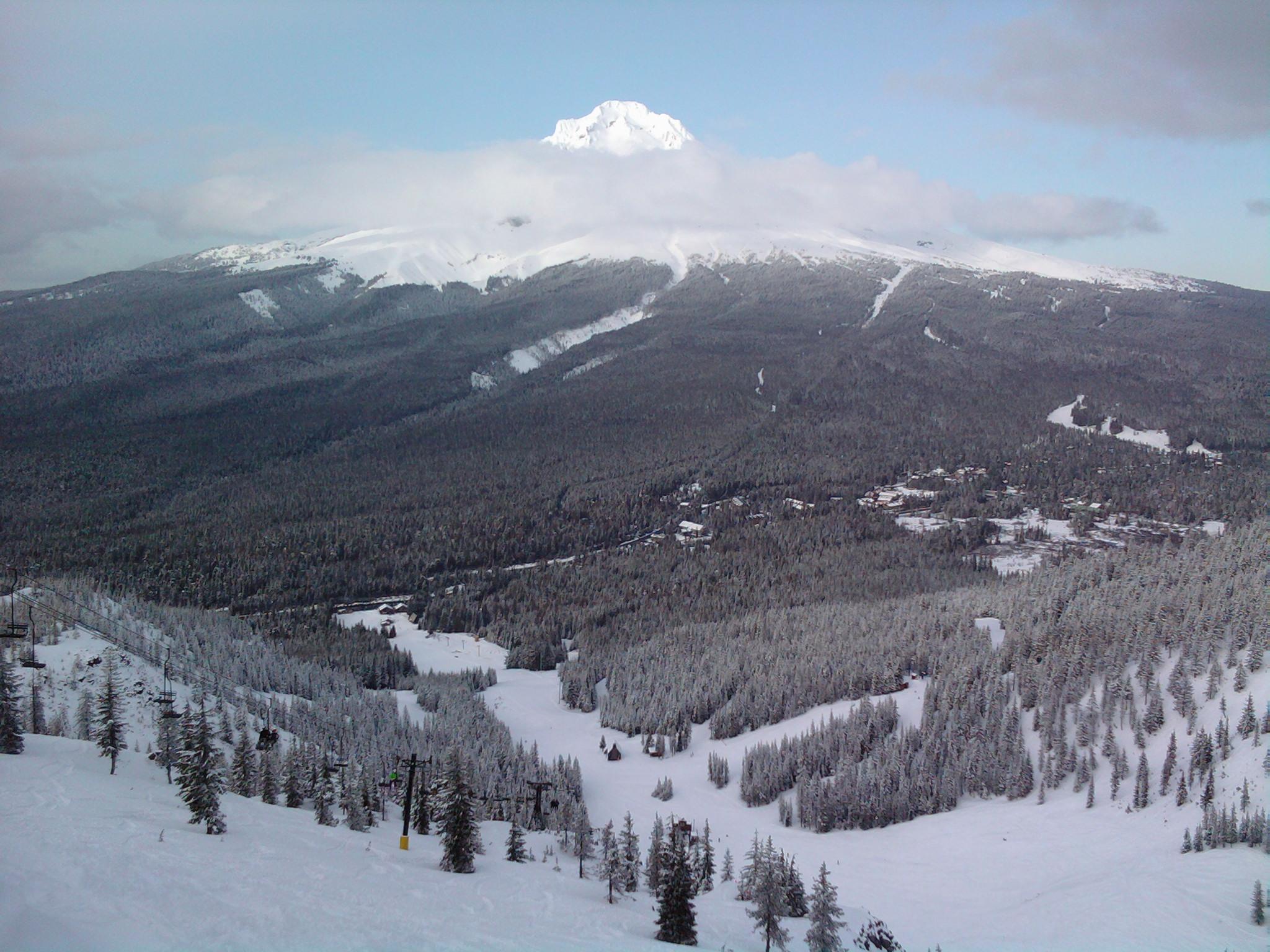 Mount Hood Ski Bowl Cabin Fever Chronicles Getting