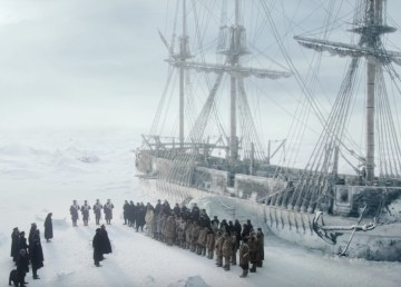 A still from AMC horror series The Terror
