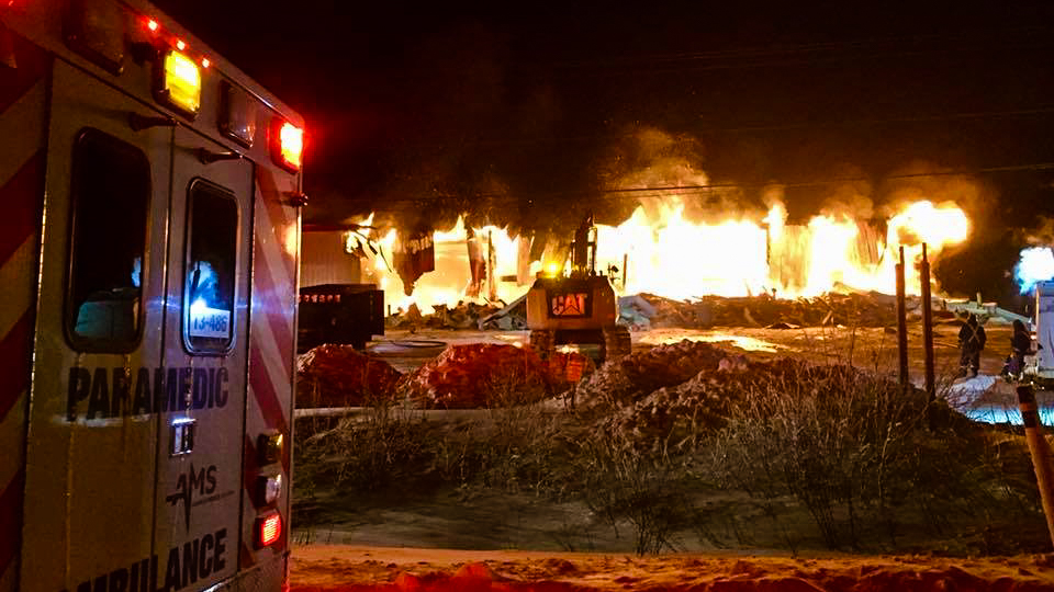 'Total loss' following fire at Inuvik ambulance base