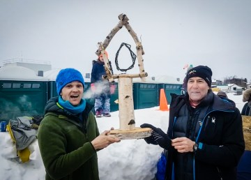 Cabin Winter Games 2018 extreme tea boiling winners