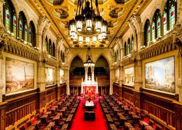 Canadian Senate Chamber