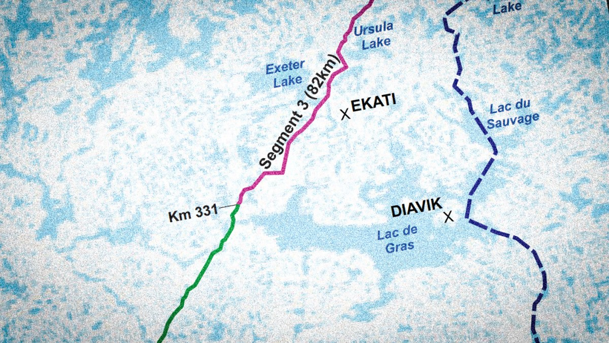 NWT denied federal funding for Slave Geological Province road