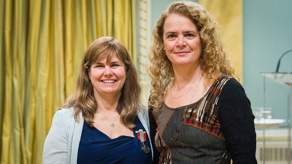 Fort Simpson's Val Gendron earns national volunteer award