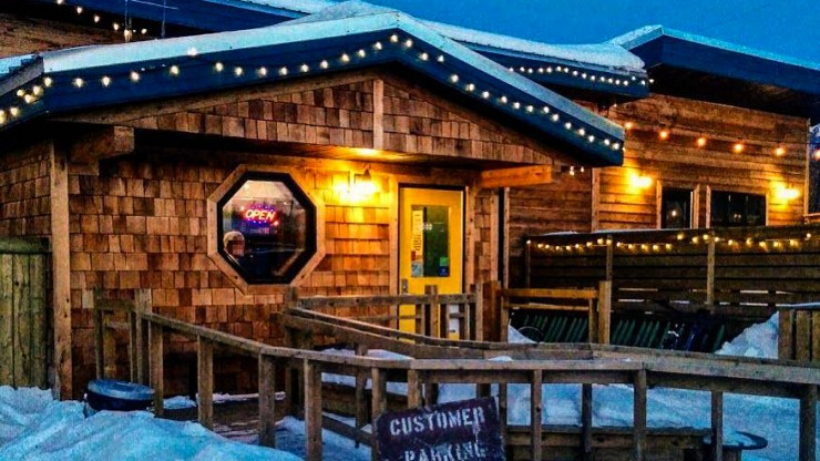 Yellowknife's Woodyard brewpub