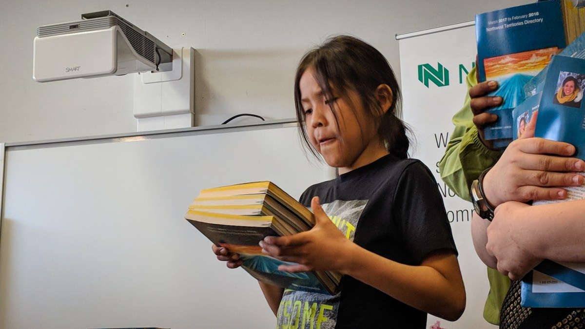 Shock as Yellowknife children still know what a phone book is