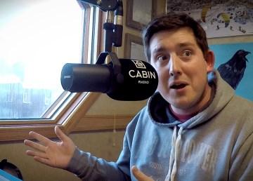 Cabin Radio's Ollie Williams in Studio One
