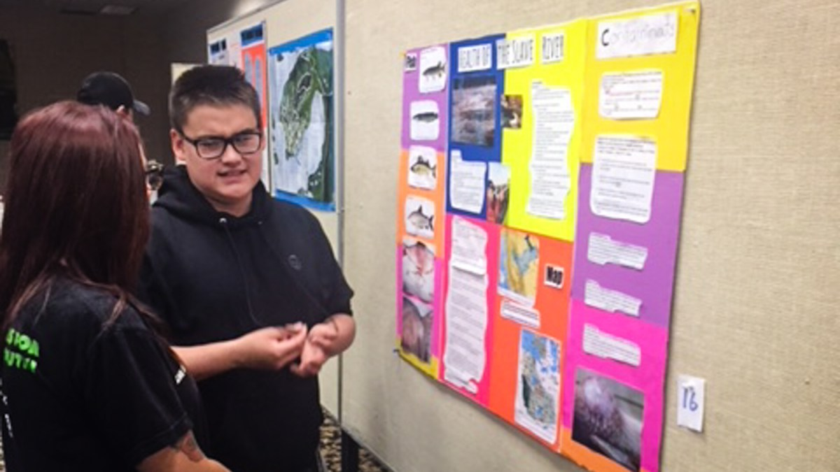 Fort Smith teen's Slave River research earns Poland trip