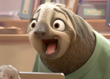 Sloth from Zootopia