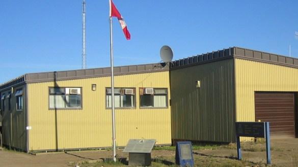 A file photo of the Fort McPherson RCMP detachment