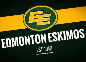 A rendering of the Edmonton Eskimos football club's logo
