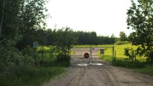 Fort Smith's sewage lagoon