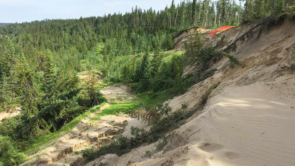 Landslide appears to strike Fort Smith ski hill